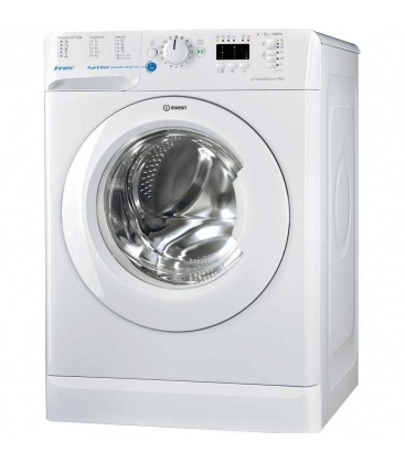 Masina de spalat rufe Indesit BWSA 51052 W, Clasa A++, Capacitate 5 Kg, 1000 rpm, Innex - Push&Wash, Alb