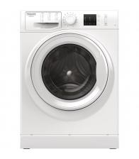 Masina de spalat rufe Hotpoint NM10 743 W, Clasa A+++, Capacitate 7 Kg, Motor inverter, Steam Hygiene, Alb