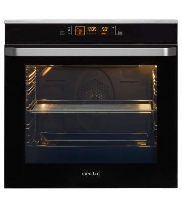 Cuptor incorporabil Arctic AROIM32400X, Clasa A, Capacitate 82 l, Display Touch, 12 functii, Self Clean, Negru