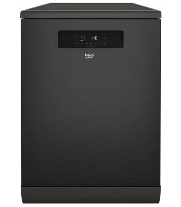 Masina de spalat vase Beko DFN38530DX, Clasa A+++, Capacitate 15 seturi, 8 programe, SteamGloss®, ProSmart™Inverter, Antracit