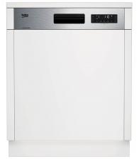 Masina de spalat vase incorporabila Beko DSN26420X, Clasa A++, Capacitate 14 seturi, 6 programe, SteamGloss®, Alb
