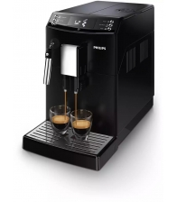 Espressor automat Philips EP3510/00, Capacitate 1.8 l, Presiune 15 bari, AquaClean, Spumare lapte, 5 setari intensitate, Negru