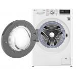 Masina de spalat rufe LG F4WN609S1, Clasa A+++, Capacitate 9 Kg, 1400 rpm, Direct Drive, Turbo Wash, Steam, WiFi, Alb
