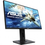 Monitor Gaming Asus VG255H, LED, Diagonala 24.5 inch, Timp de raspuns 1 ms, Rata refresh 75 Hz, FreeSync, Negru