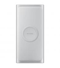 Baterie externa Samsung EB-U1200, Capacitate 10000 mAh, 1x USB, 1x USB-C, Wireless Qi, Quick Charge 2.0, Argintiu