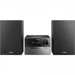Microsistem audio Philips BTM2310/12, Putere 15 W, CD, Bluetooth, MP3, USB, Negru