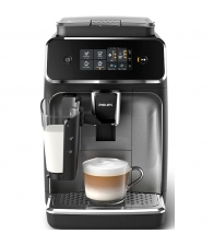Espressor automat Philips LatteGo EP2236/40, Putere 1450 W, Capacitate 1.8 l, Display Touch, Functie Aroma Seal, Negru