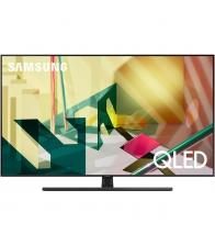 Televizor Samsung 55Q70T, QLED, Smart, Clasa G, Diagonala 138 cm, Ultra HD 4K, Negru