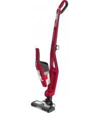 Aspirator vertical ROWENTA Dual Force 2in1 RH6753WO, Acumulator, Putere 21.6V, Capacitate 0,6 l, Autonomie 45 minute, Rosu