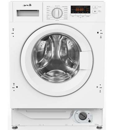 Masina de spalat rufe incorporabila Arielli AWM-8014BI, Clasa A+++, Capacitate 8 Kg, 1400 rpm, Alb