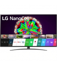 Televizor LG 55NANO813NA, LED, Smart, 139 cm, Ultra HD 4K, Nanocell, AiThinQ, Negru