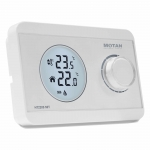 Termostat wireless Motan HT220S SET, Control sensitiv al temperaturii, Alb