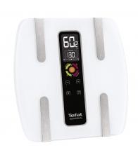 Cantar corporal Tefal BodySignal BM7100S6,  Capacitate maxima 160kg, 4 memorii, Afisaj LCD iluminat, Alb
