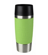 Termos Tefal Travel Mug K3083114, Capacitate 0.36 l, Capac 360 Quick Press, Verde