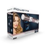 Perie rotativa Rowenta Brush Activ' Premium Care CF9540, Putere 1000 W, 2 viteze, Ionizare, 2 perii, Invelis ceramic, Roz