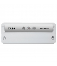 Aparat de vidat Zass ZVS 02, Putere 155 W, Presiune vid: 0.60 ~ 0.80 bar, Alb