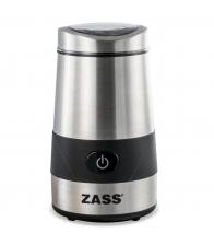Rasnita de cafea Zass ZCG 07, Putere 200 W, Capacitate 60 g, Inox