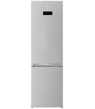 Combina frigorifica Beko RCNA406E40ZMN, Clasa A++, Capacitate 362 l, Neofrost™ Dual Cooling, HarvestFresh™, Everfresh+, Argintiu