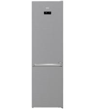 Combina frigorifica Beko RCNA406E60XBN, Clasa A+++, Capacitate 362 l, Neofrost™ Dual Cooling, Compresor Inverter, Argintiu