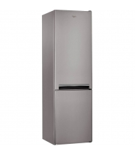 Combina frigorifica Whirlpool BSNF9101OX, Clasa A+, Capacitate 350 l, 6th Sense Fresh Control, H 201 cm, Inox
