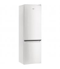 Combina frigorifica Whirlpool W5911EW, Clasa A+, Capacitate 372 l, 6th Sense, H 201 cm, Alb