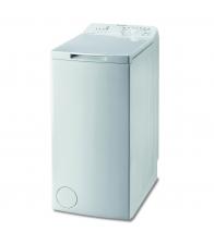 Masina de spalat rufe cu incarcare verticala Indesit BTW A51052, Clasa A++, Capacitate 5 Kg, 1000 rpm, Alb