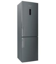 Combina frigorifica Hotpoint XH9 T2Z COJZH, Clasa A++, Capacitate 368 l, No Frost, H 201, Argintiu