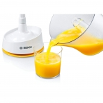 Storcator de citrice Bosch MCP3000N, Putere 25 W, Capacitate 0.8 l, Alb