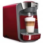 Espressor Bosch Tassimo Suny TAS3203, Putere 1300 W, Capacitate 0.8 l, Intellibrew™, Capsule, Rosu