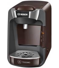 Espressor Bosch Tassimo Suny TAS3207, Putere 1300 W, Capacitate 0.8 l, Intellibrew™, Capsule, Maro