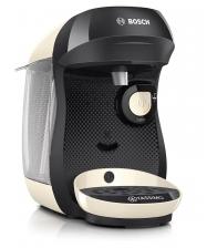 Espressor BOSCH Tassimo Happy TAS1007, Putere 1400 W, Capacitate apa 0.7 l, Capsule, Intellibrew™, Alb