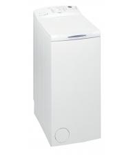 Masina de spalat rufe cu incarcare verticala Whirlpool AWE 66710, Clasa A+++, Capacitate 6 kg, 1000 RPM, 6th Sense, Alb