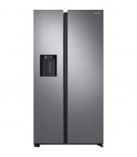 Side by Side Samsung RS68N8321S9/EF, Clasa A++, Capacitate 617 l, No Frost, Twin Cooling, Compresor Digital Invertor, Inox