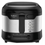 Friteuza Tefal Uno FF215D30, Putere 1300 W, Capacitate ulei 1.8 l, Capacitate alimente 800 g, Negru