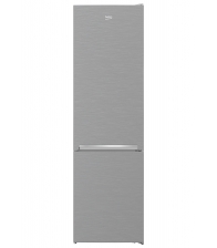 Combina frigorifica Beko RCNA406I40XBN, Clasa E, Capacitate 362 l, NoFrost, NeoFrost™, SmoothFit™, Argintiu