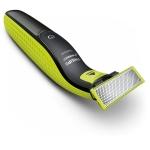 Aparat de barbierit Philips OneBlade QP2520/20, Plus lama OneBlade,  Autonomie 45 minute, 3 piepteni, Negru/Verde