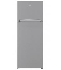 Frigider cu doua usi Beko RDNE455K30ZXBN, Clasa F, Capacitate 406 l, No Frost, EverFresh+ , NeoFrost™ Dual Cooling, Inox