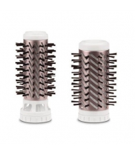 Perie rotativa Rowenta Brush Activ Compact CF9520, Putere 1000 W, 2 trepte de temperatura/viteza, Alb
