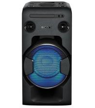 Sistem audio High Power Sony MHCV11, Mega Bass, Dj Effects, USB, Bluetooth, NFC, Negru