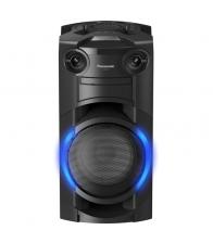 Sistem audio High Power Panasonic SC-TMAX10E-K, Putere 300 W, Bluetooth, USB, CD, Radio FM, AIRQUAKE BASS, Negru