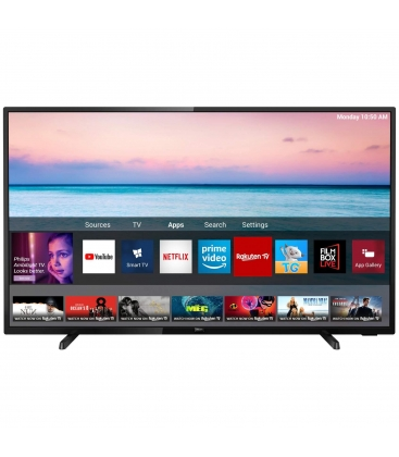 Televizor Philips 43PUS6504/12, LED, Smart, 108 cm, Ultra HD 4K, Negru