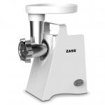 Masina de tocat carne Zass ZMG 09 Silver, Putere 800 W, Capacitate 0.6 kg/min, Accesoriu Rosii, Argintiu
