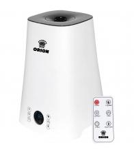 Umidificator de aer Orion OUH-19, Ultrasonic, Capacitate 5 l, Ionizare, Telecomanda, Alb