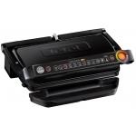 Gratar electric Tefal OptiGrill+ XL GC722834, Putere 2000 W, 9 programe, Indicator gatire, Placi detasabile, Negru