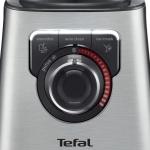Blender Tefal Perfectmix+ BL811D38, Putere 1200 W, Viteza variabila, Vas din sticla, 3 programe, Inox