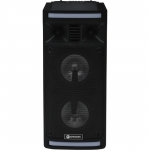 Boxa portabila A+ BPLDJ, USB, Cititor de carduri SD, Bluetooth, Microfon, Radio FM, AUX, Negru