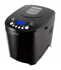 Aparat de paine Daewoo DBM600B, Putere 600 W, Capacitate 900 g, 12 programe, Timer, Negru
