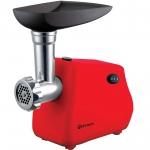 Masina de tocat Rohnson R5405R, Putere 1300 W, Capacitate 2 Kg/min, Sita 5 mm, Reverse, Rosu