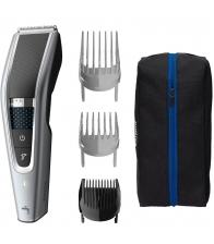 Aparat de tuns Philips Hairclipper HC5630/15, Trim-n-Flow PRO, 28 setări de lungime 0,5 - 28 mm, Argintiu