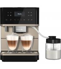 Espressor automat Miele CM 6360 MilkPerfection, Putere 1500 W, Capacitate 1.8 l, WiFiConn@ct, AromaticSystem, Argintiu